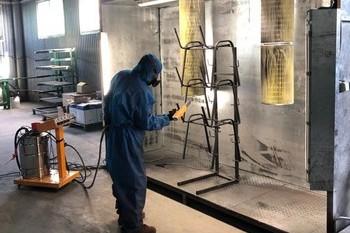 Окрашивание металлоизделий